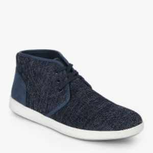 Steve Madden NIB Fowler Navy Textile Mesh Sneakers